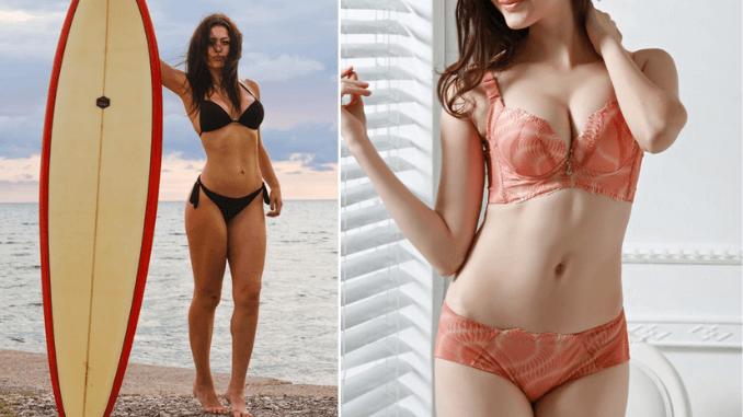 why girls feel exposed in lingerie but not in bikini
