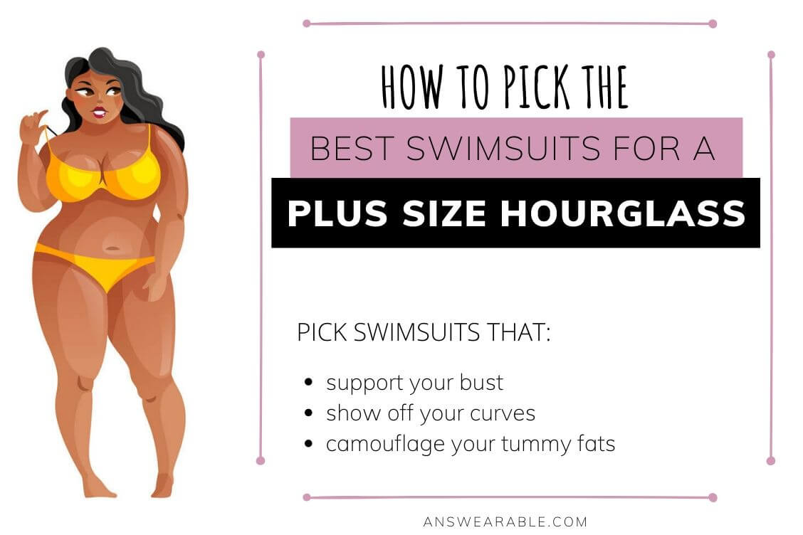 Best Swimsuits for Plus Size Hourglass