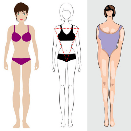 how to dress an inverted triangle body