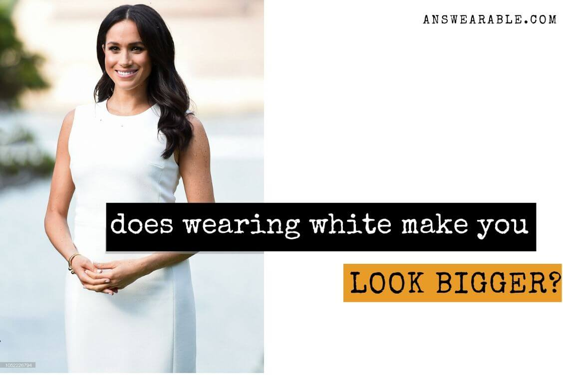 Does White Make You Look Bigger?