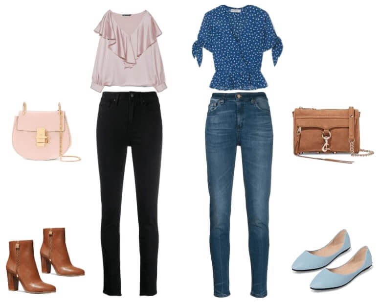 How to Style Skinny Jeans for Pear with Big Thighs