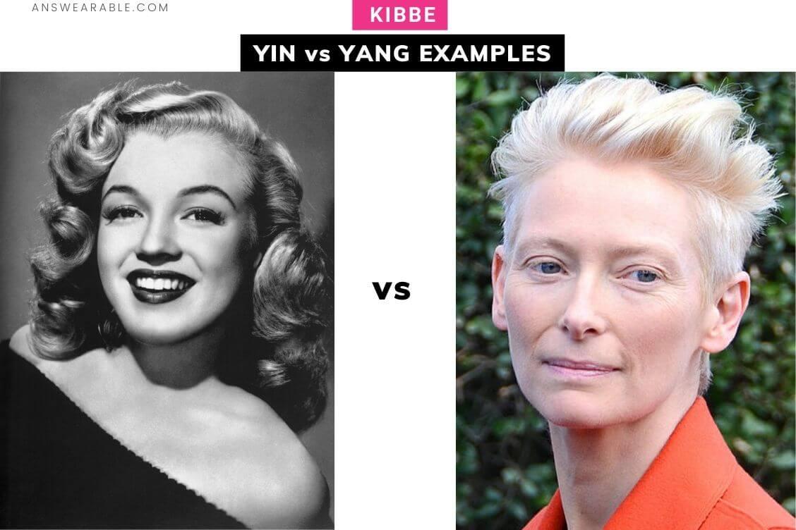 Yin vs Yang Examples: Kibbe