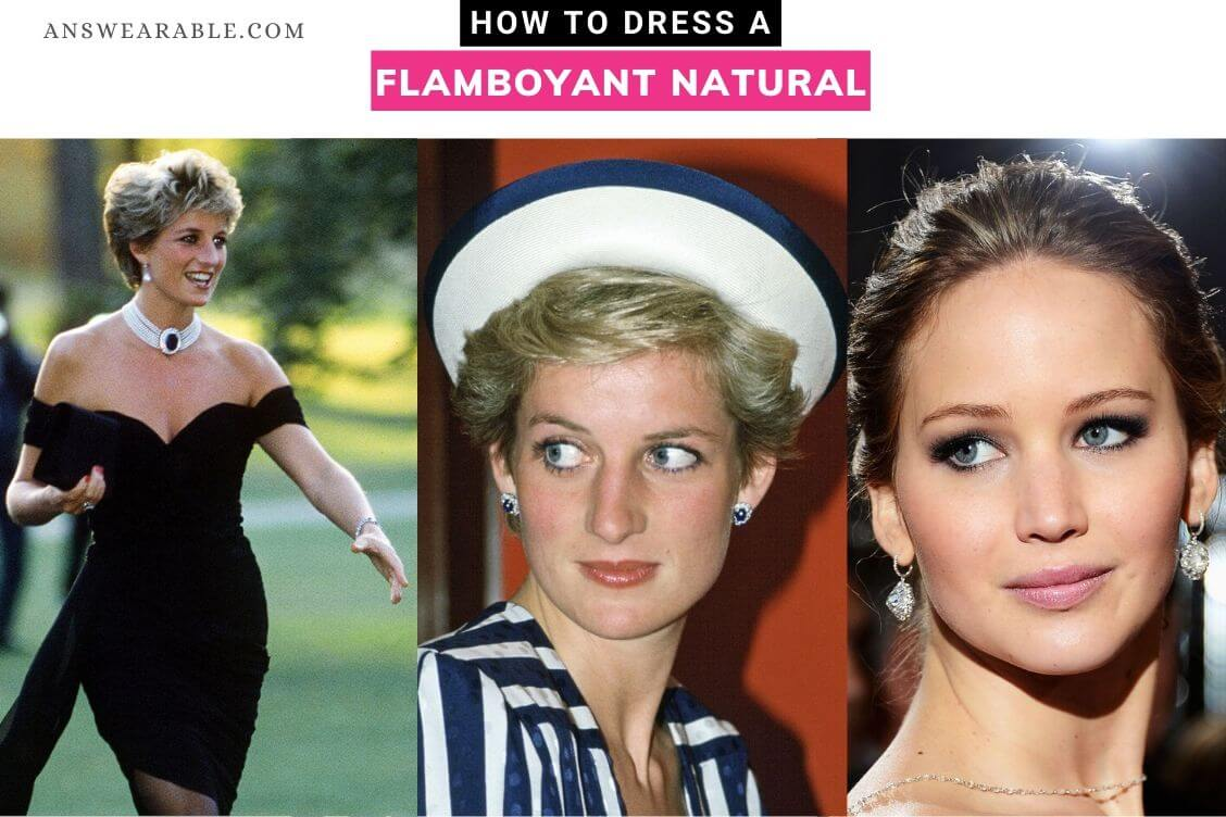 How to Dress a Flamboyant Natural Kibbe Body Type