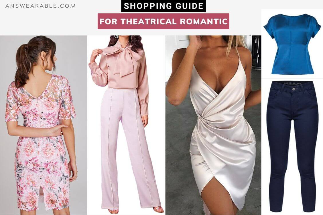 Theatrical Romantic Shopping Guide: Kibbe