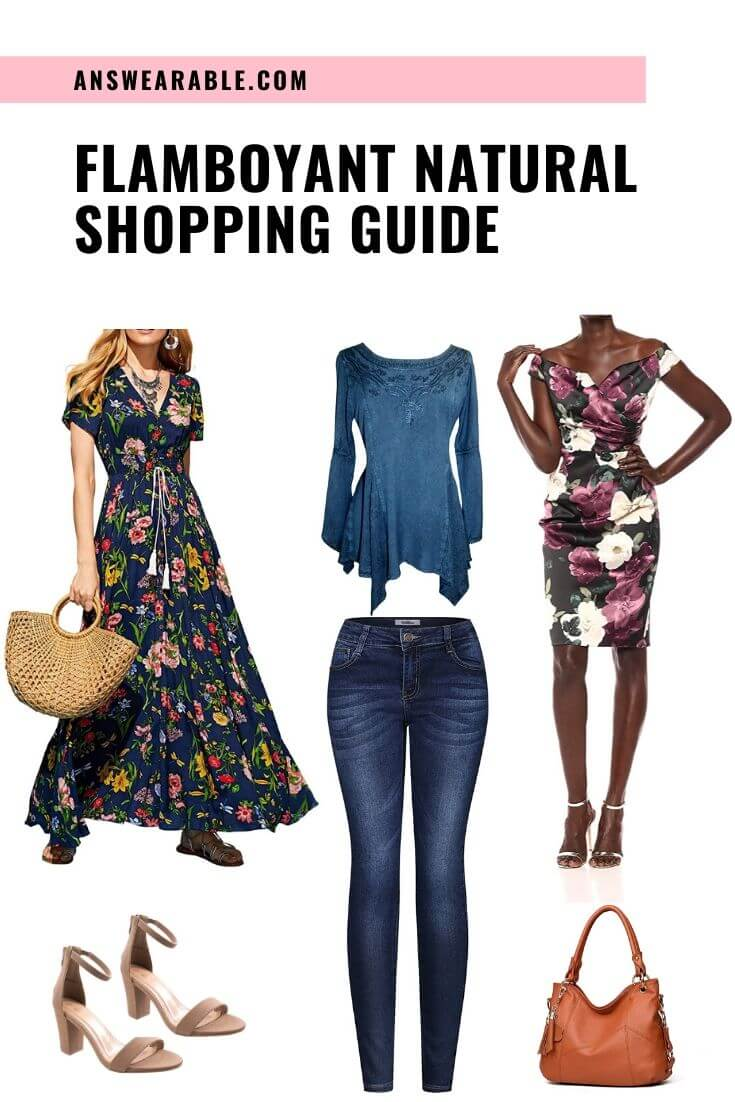 Flamboyant Natural Shopping Guide From Head to Toe Kibbe