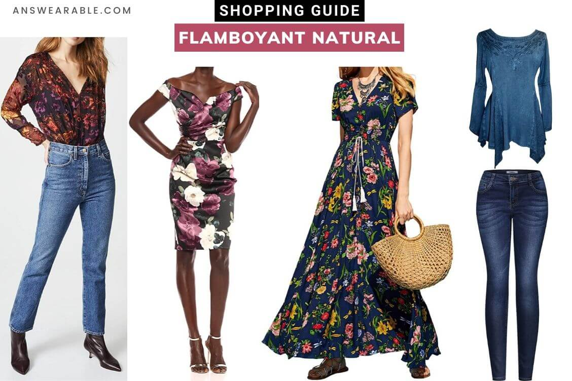 Flamboyant Natural Shopping Guide: Kibbe Body Type