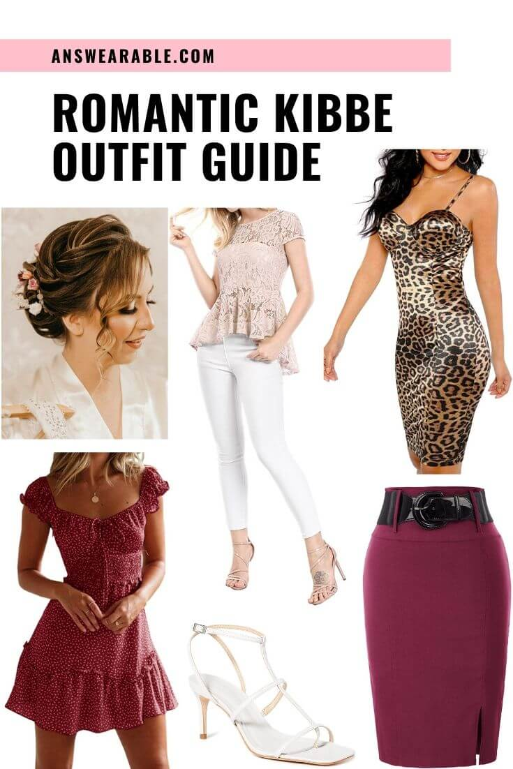 Romantic Kibbe Outfits from Head to Toe