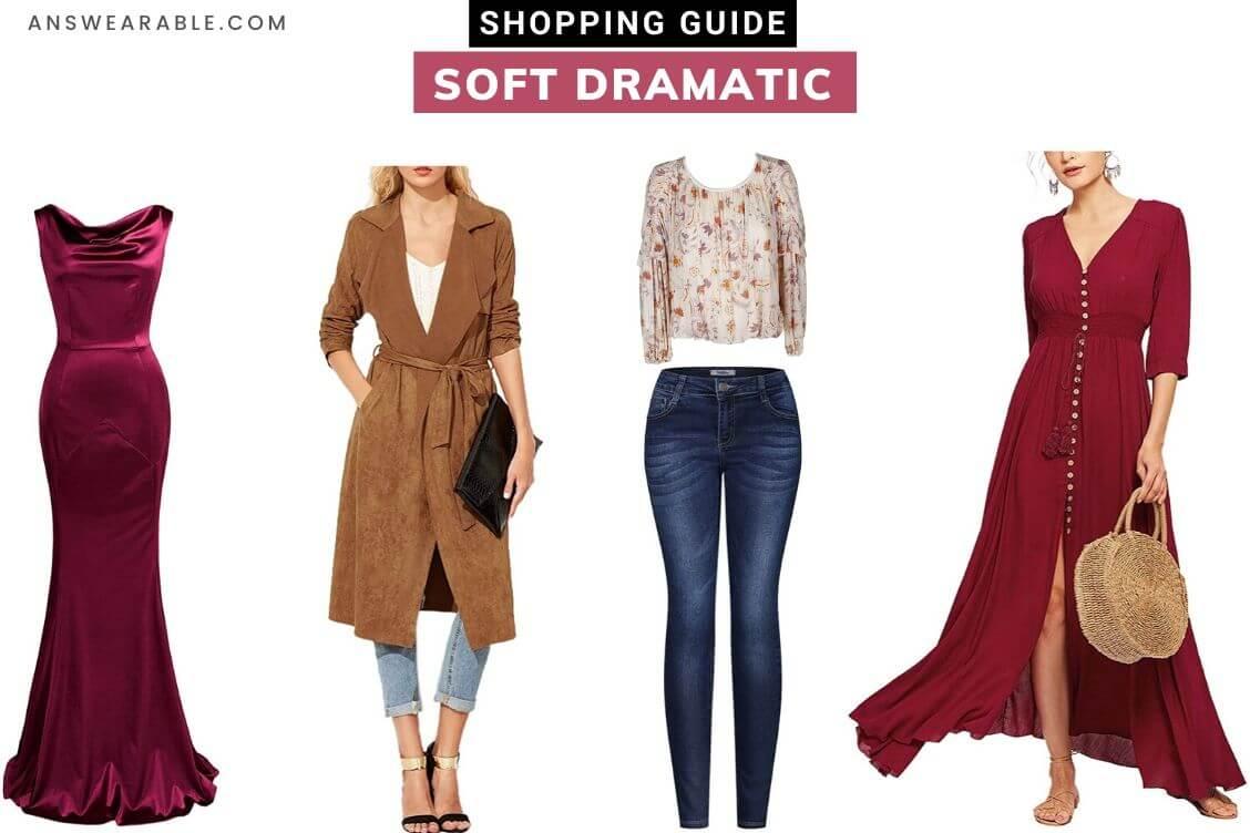 Soft Dramatic Shopping Guide: Kibbe