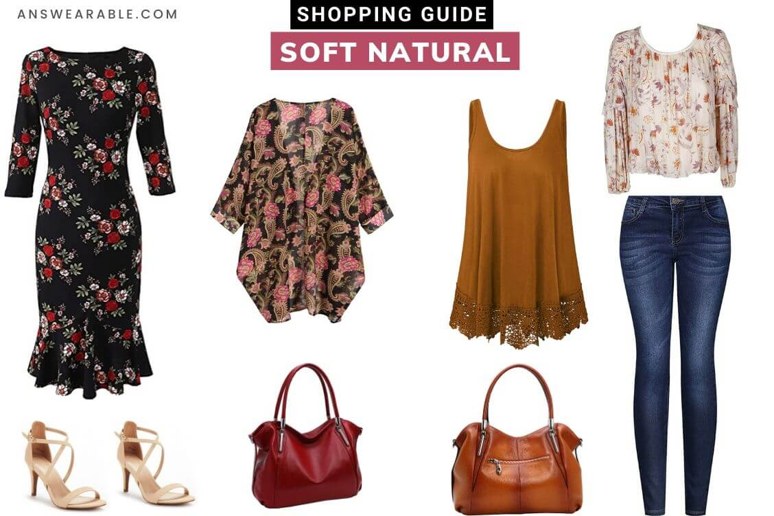 Soft Natural Shopping Guide: Kibbe Guide