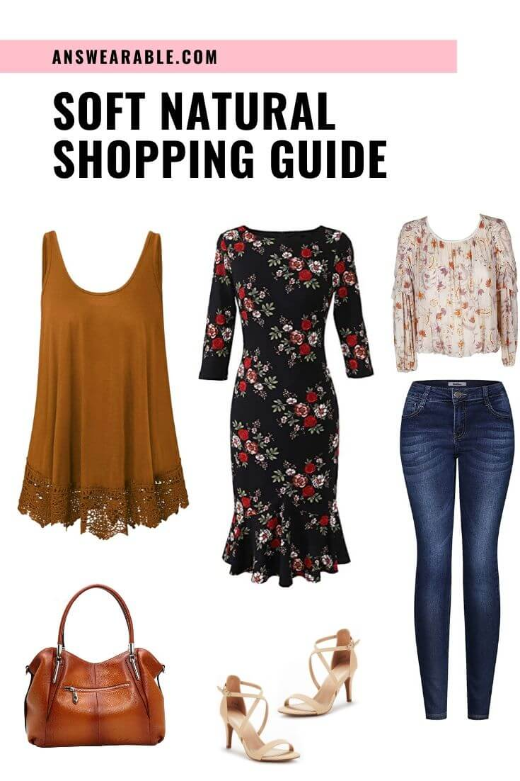 Soft Natural Shopping Guide: Outfit, Accessories, Makeup, Color