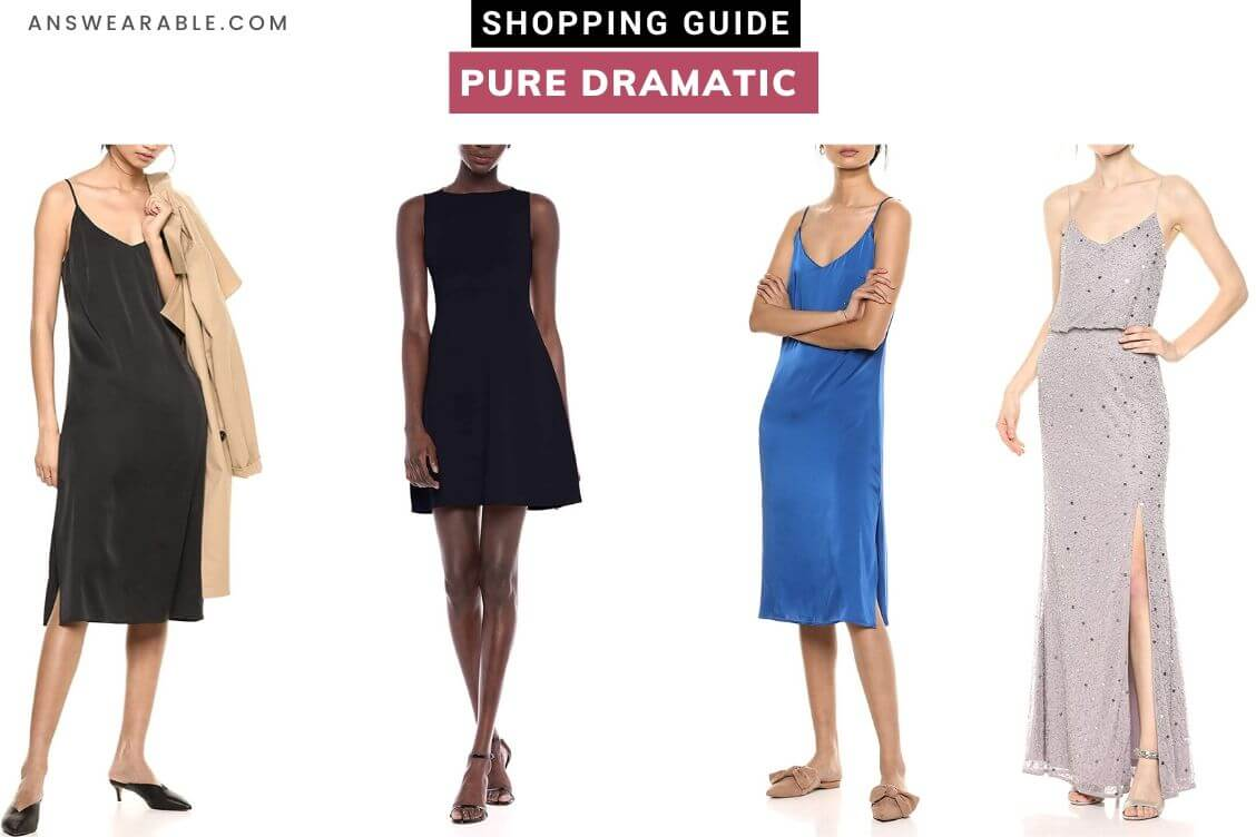 Dramatic Kibbe Shopping Guide From Head to Toe